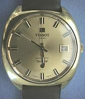#1133 Tissot Seastar 21J Date Automatic Sold