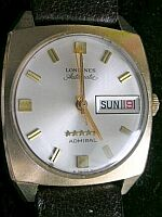# 1158 Longines Admiral Auto.-Sold