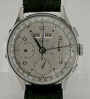 Wittnauer 3 Register 2 Button Chronograph 17 J-Sold